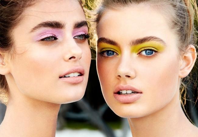 Buntes Augen Make-up