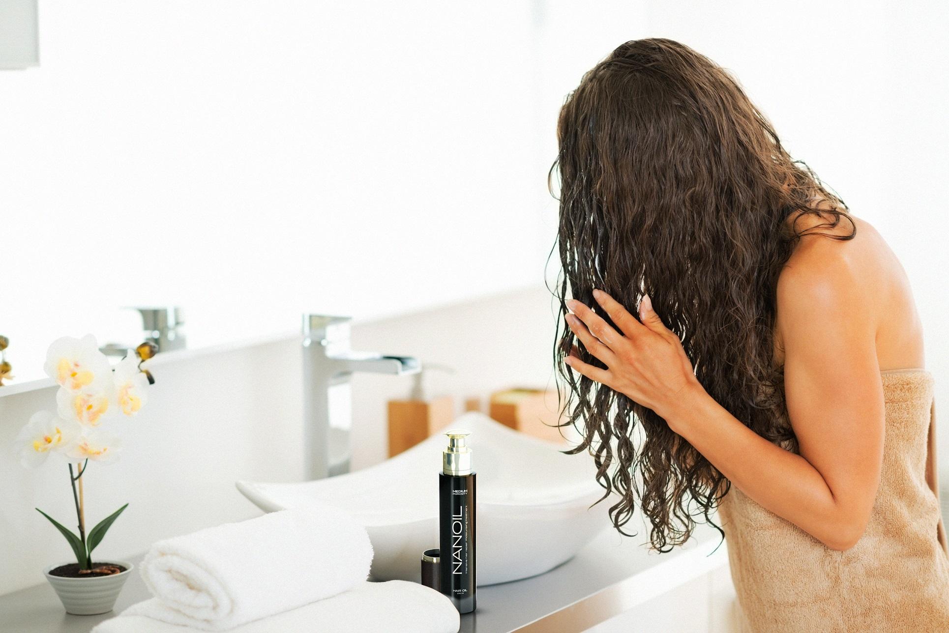 Haaröl Nanoil - Wirkung