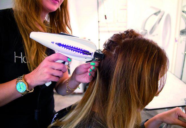 Haarverlängerung mit Laserbeamer – Behandlung, Effekte und Preis